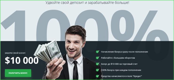 бонусы и акции от Weltrade