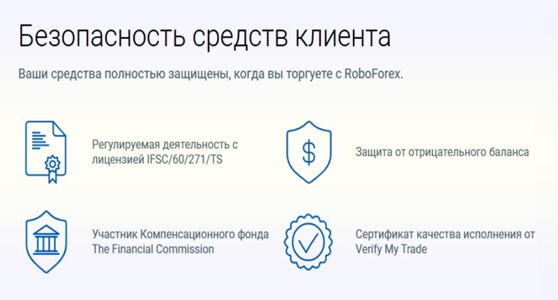 регулируемый брокер RoboForex