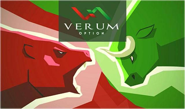 возможности криптовалют в Verum option