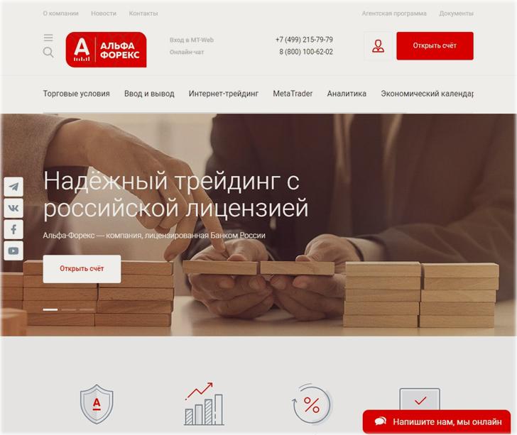 российская лицензия у Форекс брокера