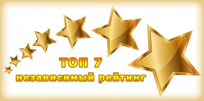 ТОП 7— рейтинг независимых Форекс брокеров работающих в России