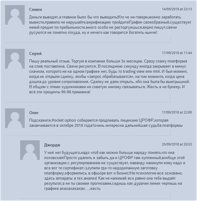 обзор отзывов клиентских