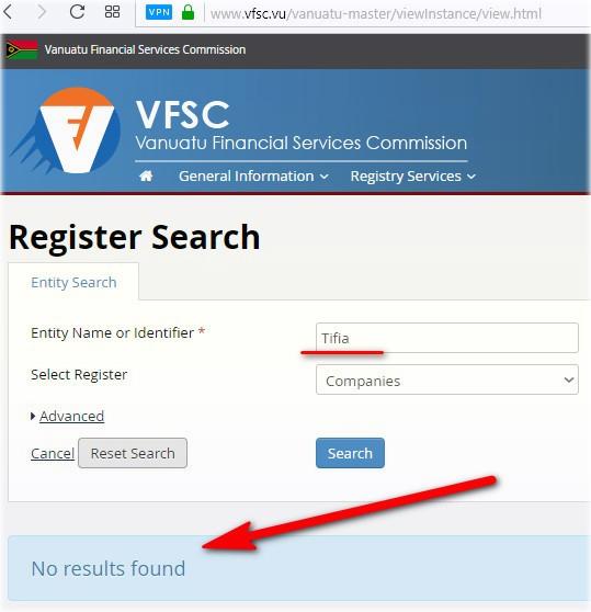 получить лицензию у VFSC