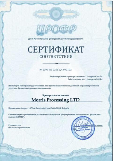 finmax лицензия