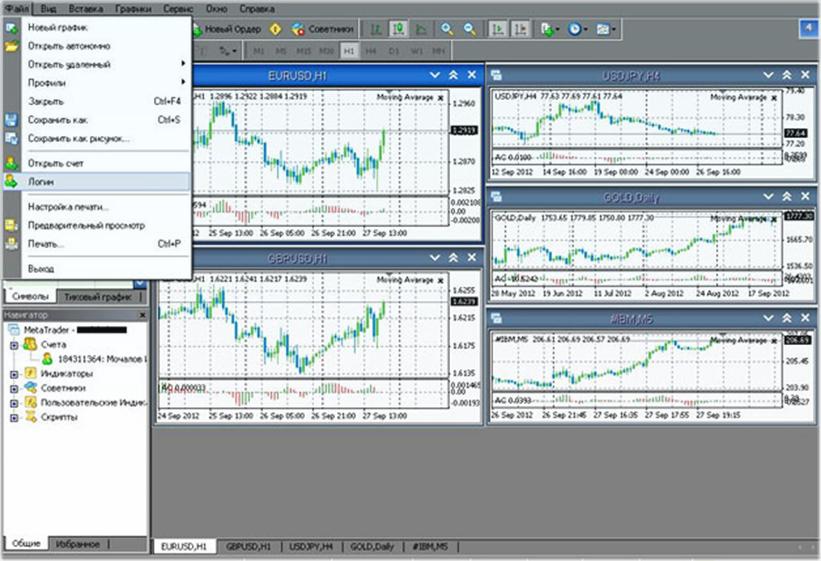 демо счёт на бирже