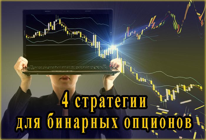 4 стратегии бинарных опционов