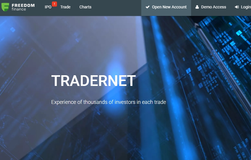 дилер TraderNet