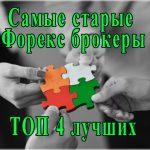 Самые старые Форекс брокеры России. Рейтинг 4 лучших дилеров, по мнению пользователей