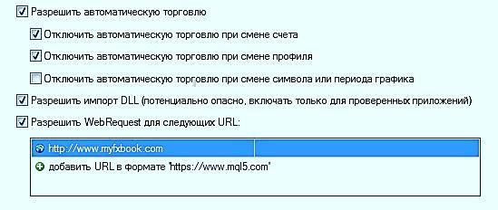 Установка Forex Insider в терминал МТ4