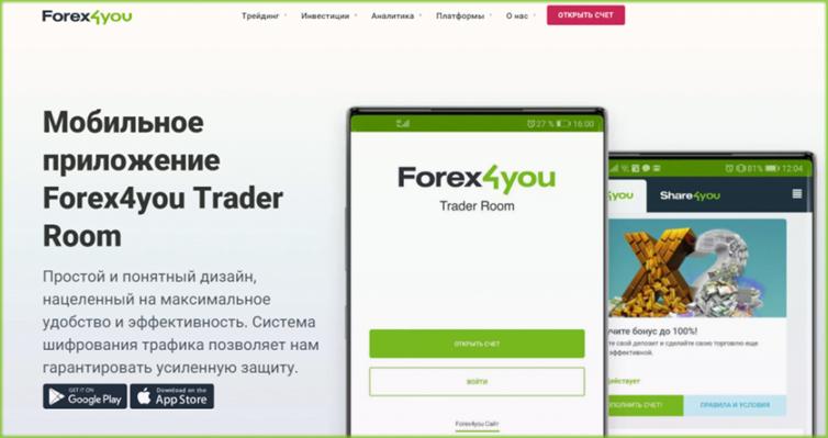 Forex4you Trader Room