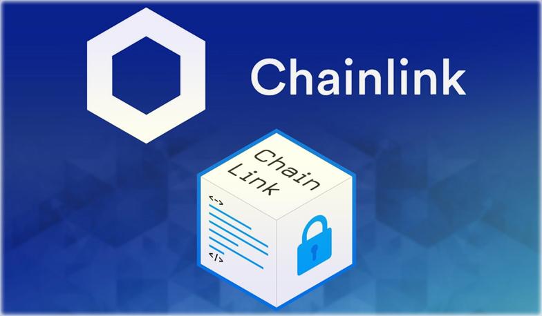 с монетой Chainlink