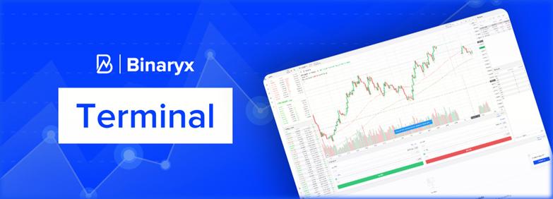терминал Binaryx