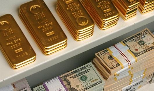 Влияние ценового колебания золота на курсы валют