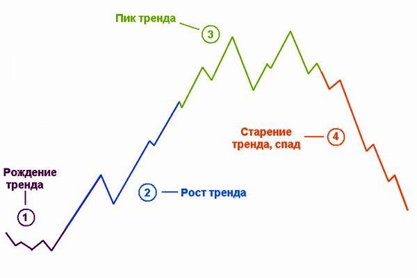 Циклы тренда и его особенность
