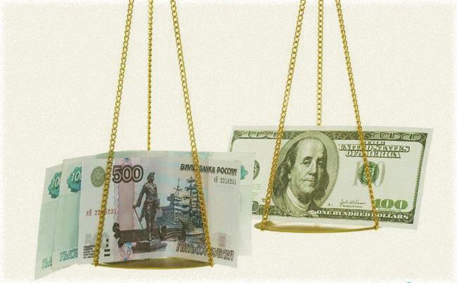 онлайн графики по изменению курсов рубля с долларом