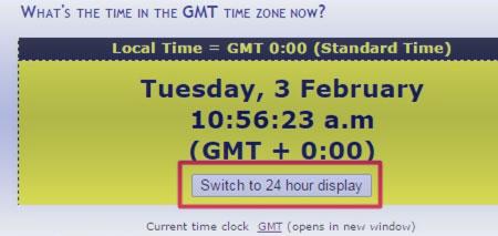 GMT offset, в трейдинге что такое