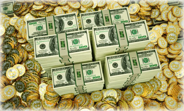 Деньги за биткоины