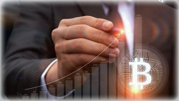 рост курса на биткоин