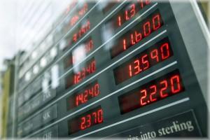 Влияние на курс валют