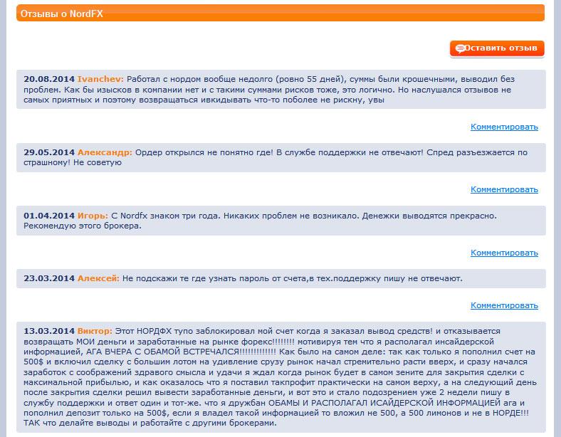 NordFX отзывы о брокере. Полная информация о компании НордФХ