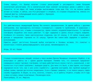 Бинарные опционы— 24option.com. Обзор компании и отзывы о брокере