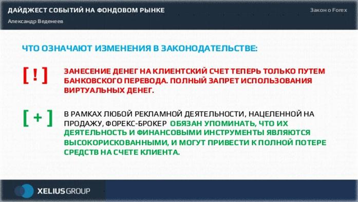 рынок в России, законодательство 2015