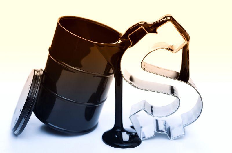 Зависимость курса доллара от цены на нефть и полностью обратная пропорциональность