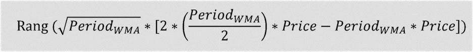 расчетная формула HMA