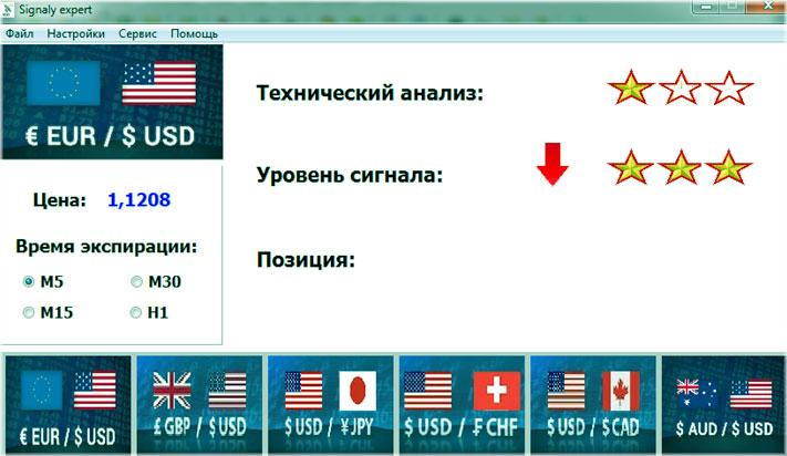Бесплатные программы для сигналов бинарных опционов эмблемы криптовалют