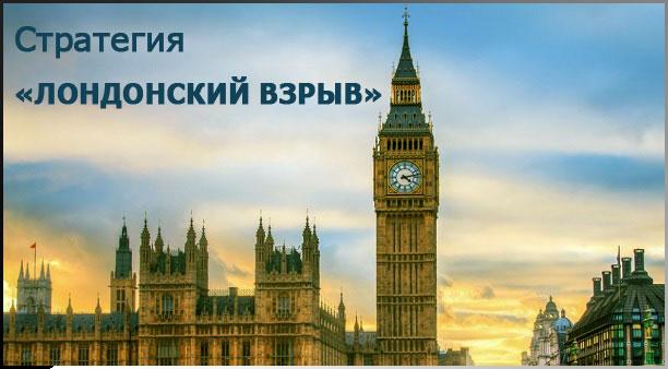 Лондонский взрыв— обзор стратегии торговли на рынке Форекс