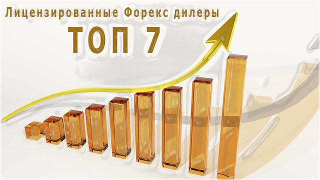 Лицензированные Форекс дилеры России— список 7 лучших брокерских компаний